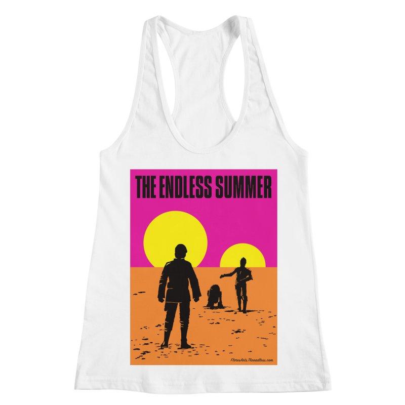 Endless Summer Women's Racerback Tank by FloresArts