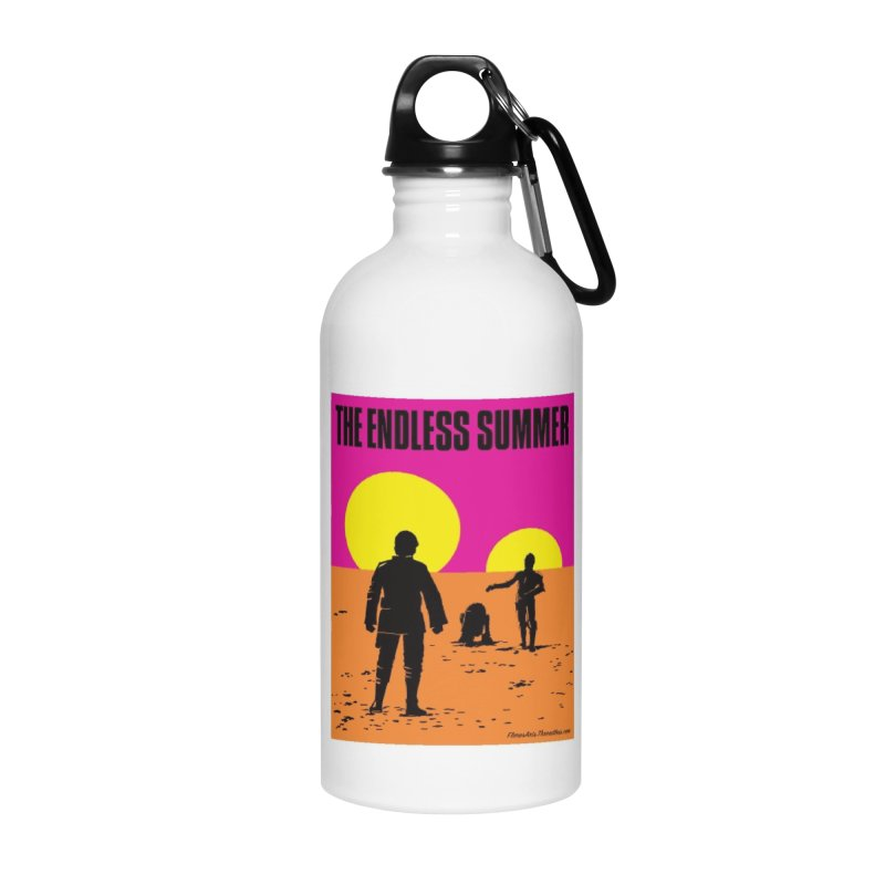 The Endless Summer Accessories Water Bottle by FloresArts