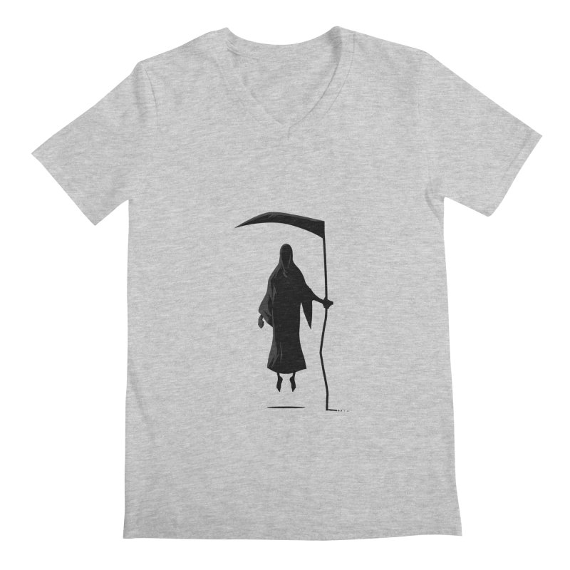Death Men's V-Neck by FLOREY
