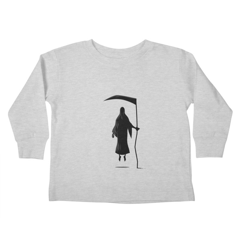 Death Kids Toddler Longsleeve T-Shirt by FLOREY