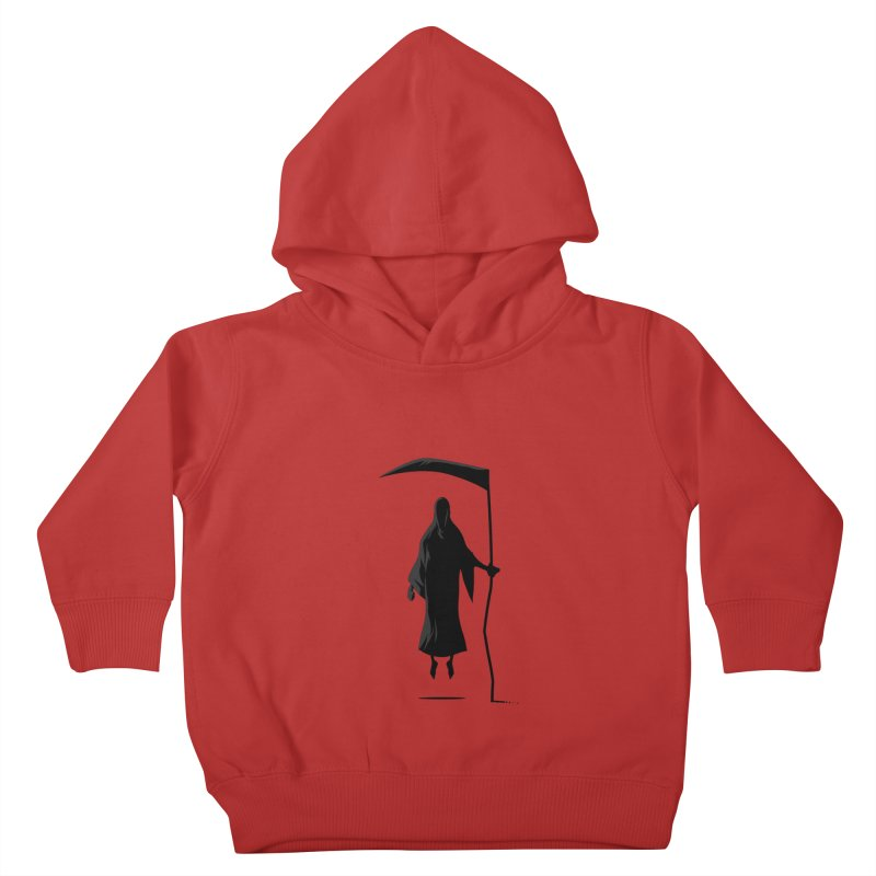 Death Kids Toddler Pullover Hoody by FLOREY