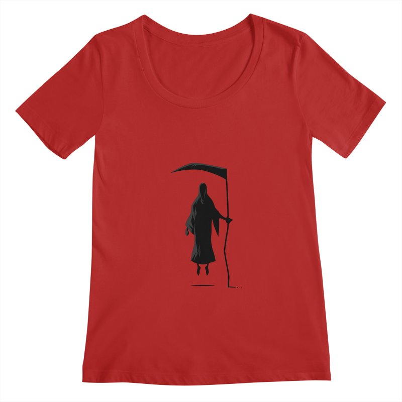 Death Women's Scoopneck by FLOREY