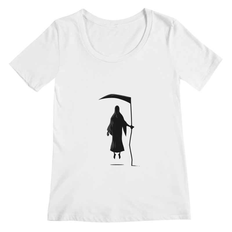 Death Women's Scoopneck by FLOREY