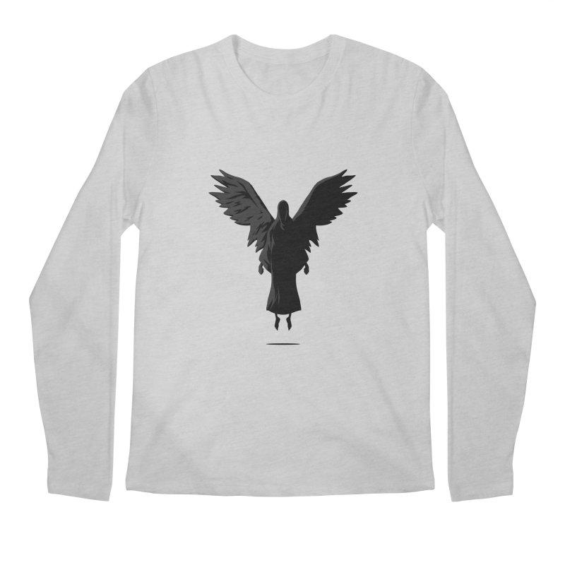 Angel of Death Men's Longsleeve T-Shirt by FLOREY