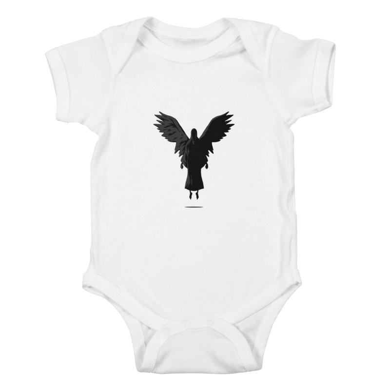 Angel of Death Kids Baby Bodysuit by FLOREY