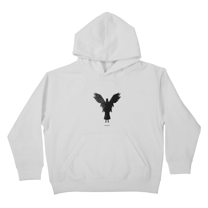 Angel of Death Kids Pullover Hoody by FLOREY