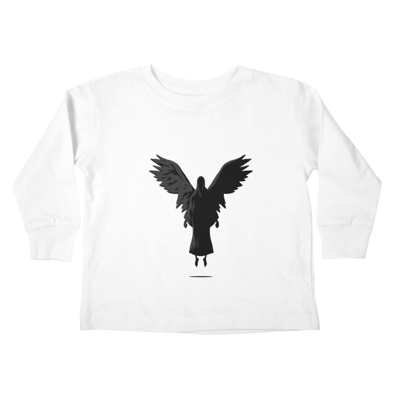 Angel of Death Kids Toddler Longsleeve T-Shirt by FLOREY