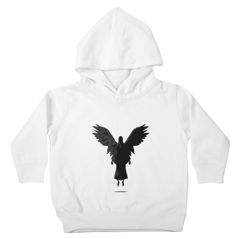 Angel of Death Kids Toddler Pullover Hoody by FLOREY