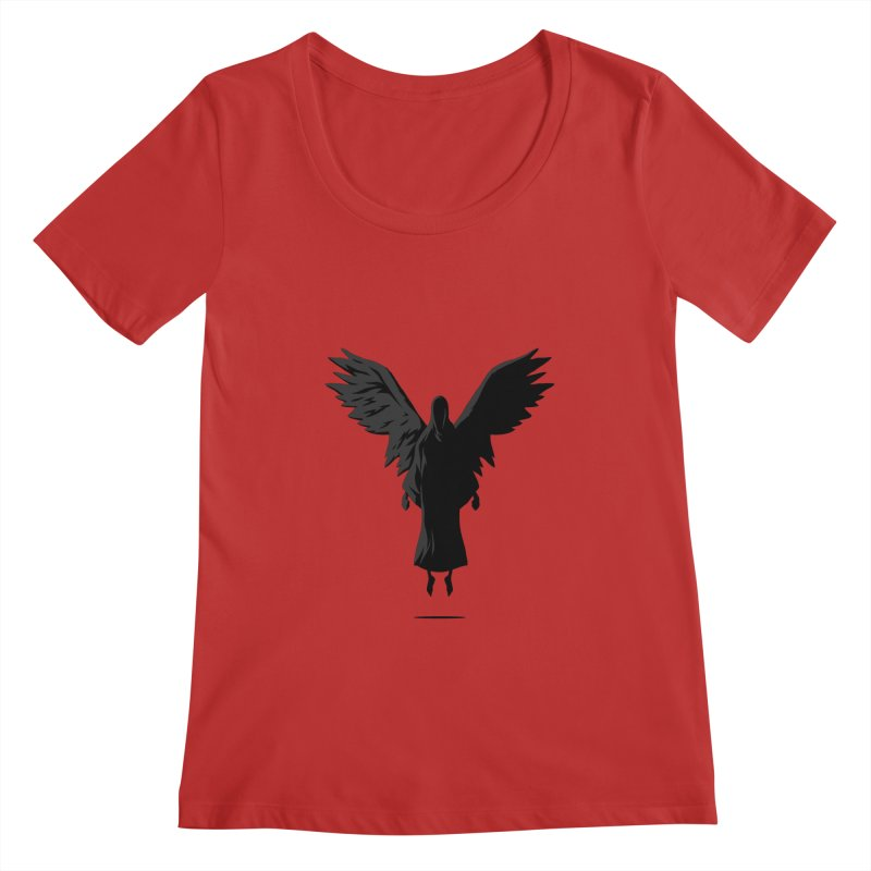 Angel of Death Women's Scoopneck by FLOREY