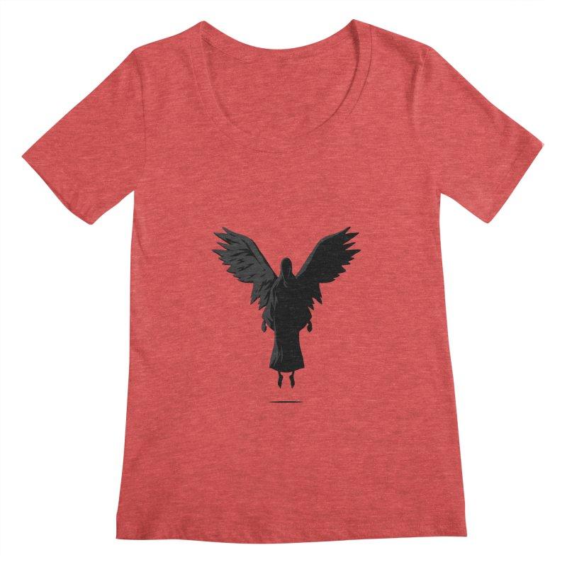 Angel of Death Women's Scoopneck by FLOREY