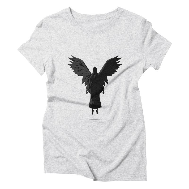 Angel of Death Women's Triblend T-Shirt by FLOREY
