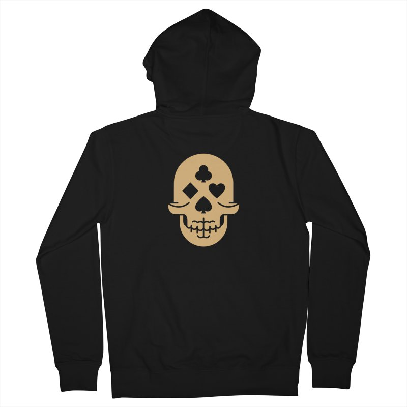 Dead Decks Logo Tee Men's Zip-Up Hoody by FLOREY