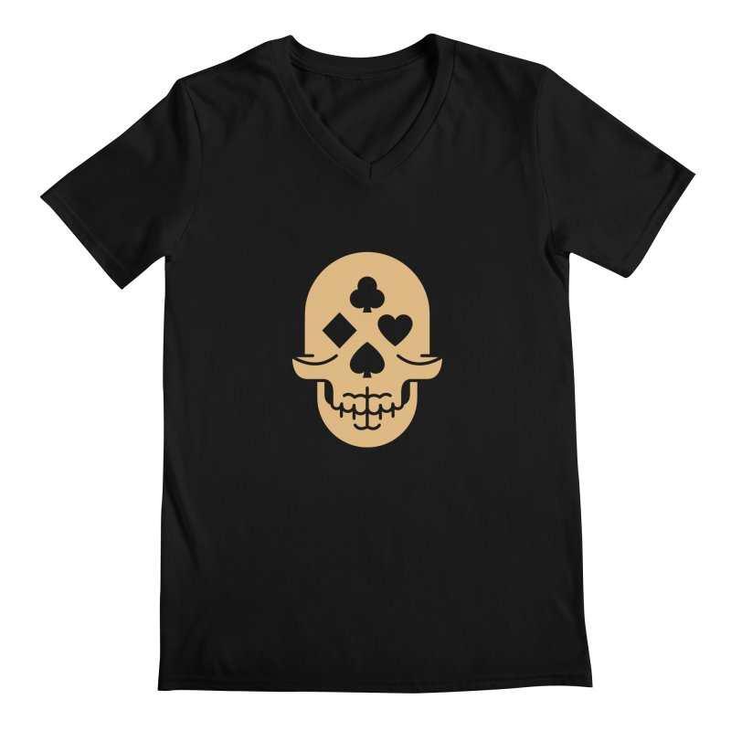 Dead Decks Logo Tee Men's V-Neck by FLOREY