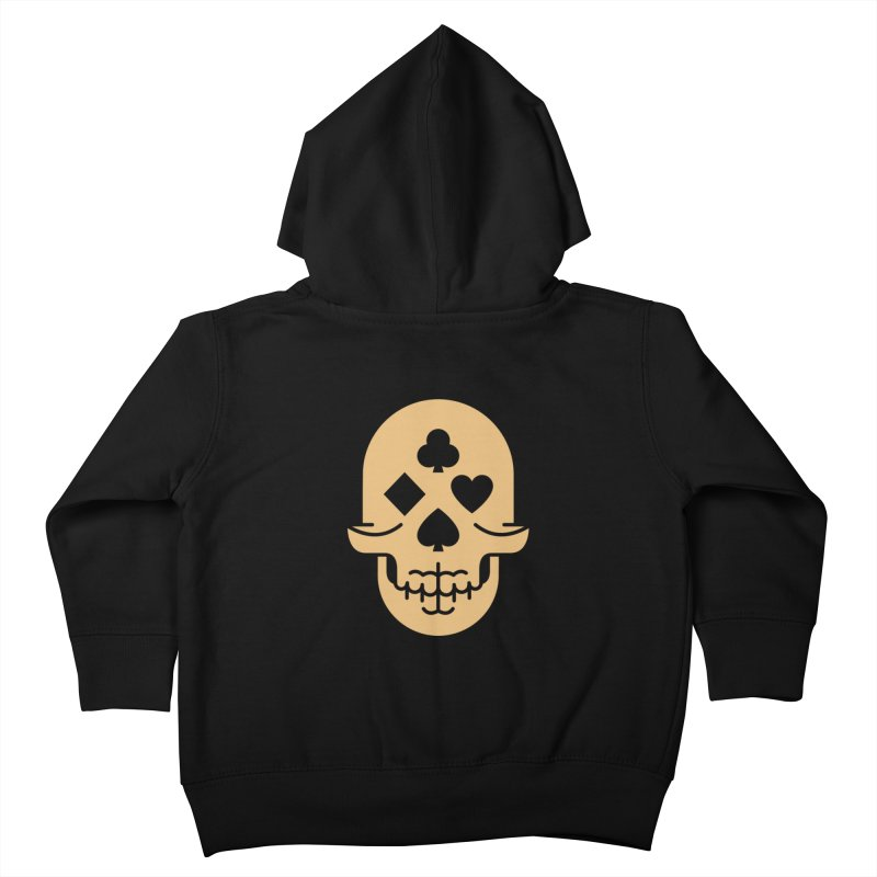 Dead Decks Logo Tee Kids Toddler Zip-Up Hoody by FLOREY