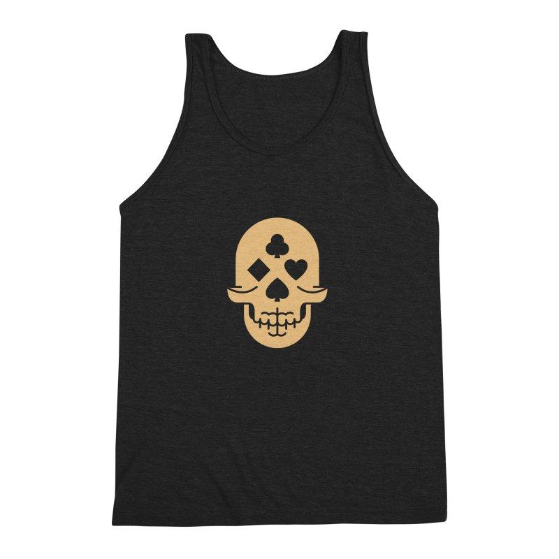 Dead Decks Logo Tee Men's Triblend Tank by FLOREY