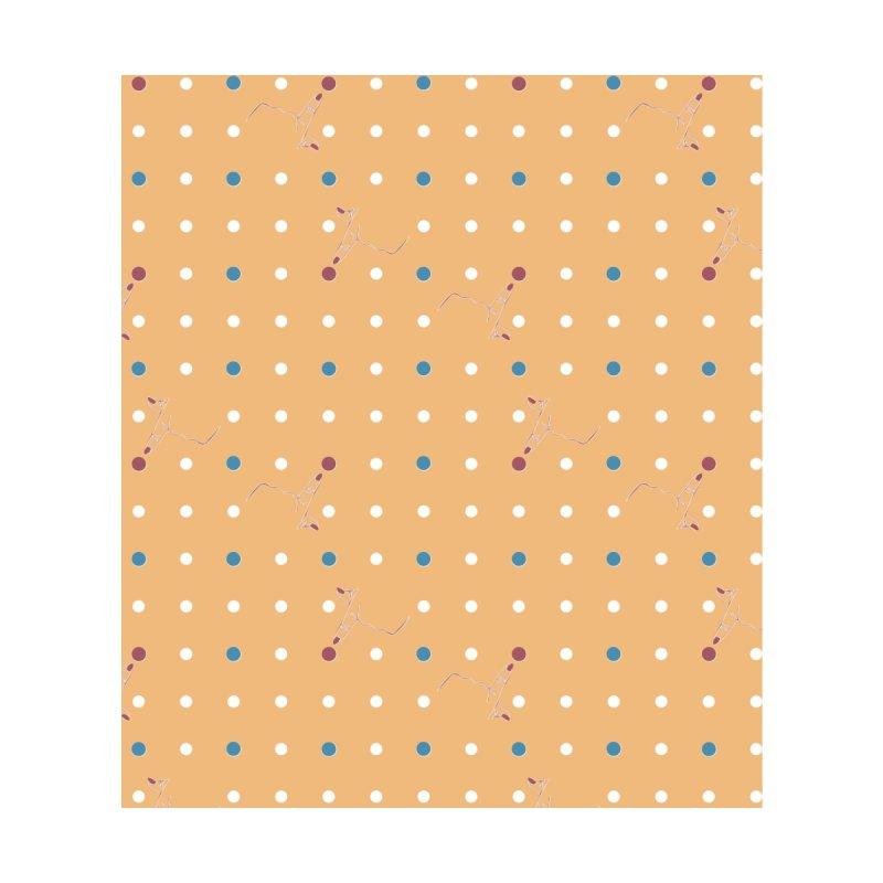 Canary Yellow Poke-a-dot Pattern by Flourish & Flow's Artist Shop