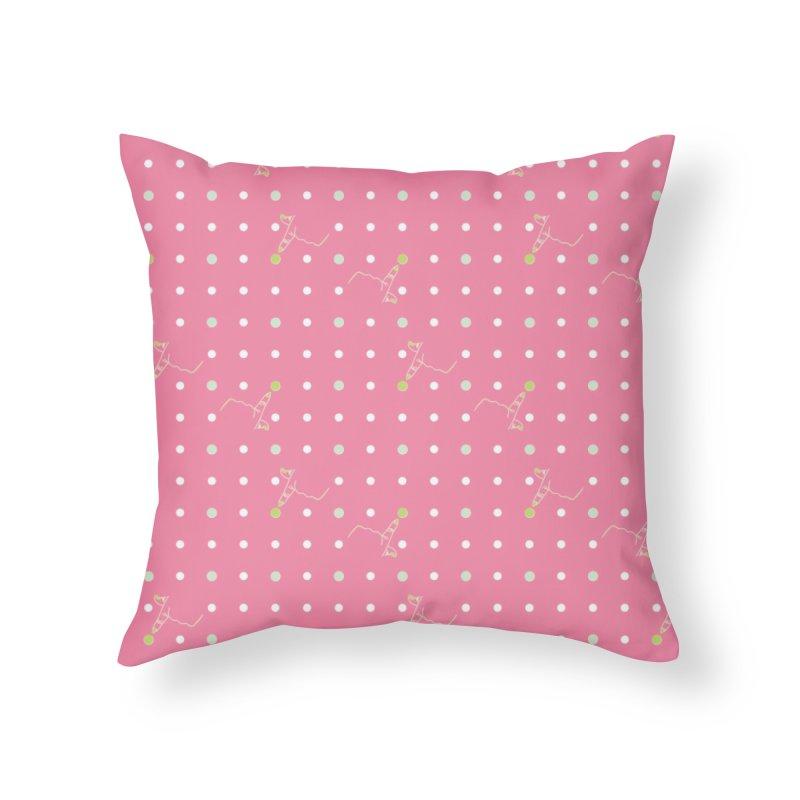 Pink Poke-a-dot Pattern   by Flourish & Flow's Artist Shop