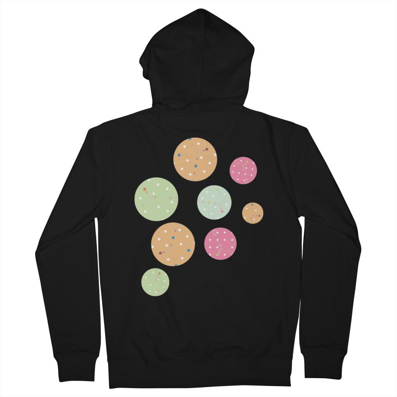 Poke-a-dot in a dot Women's Zip-Up Hoody by Flourish & Flow's Artist Shop