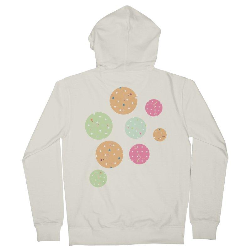 Poke-a-dot in a dot Women's Zip-Up Hoody by Flourish & Flow's Artist Shop