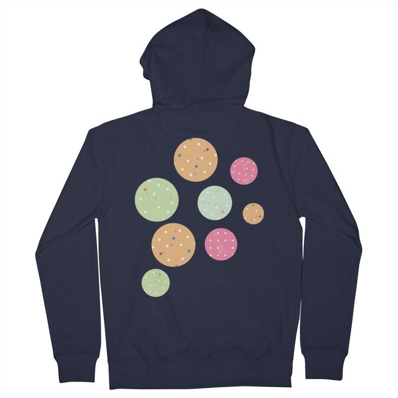 Poke-a-dot in a dot Men's Zip-Up Hoody by Flourish & Flow's Artist Shop