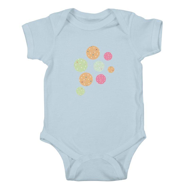 Poke-a-dot in a dot Kids Baby Bodysuit by Flourish & Flow's Artist Shop