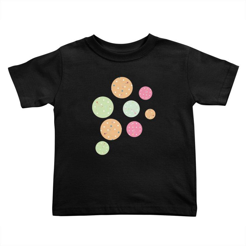 Poke-a-dot in a dot Kids Toddler T-Shirt by Flourish & Flow's Artist Shop