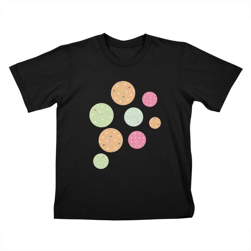 Poke-a-dot in a dot Kids T-shirt by Flourish & Flow's Artist Shop