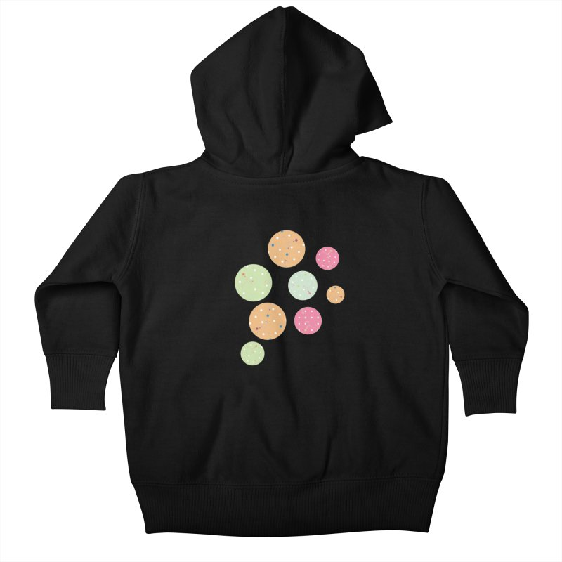 Poke-a-dot in a dot Kids Baby Zip-Up Hoody by Flourish & Flow's Artist Shop
