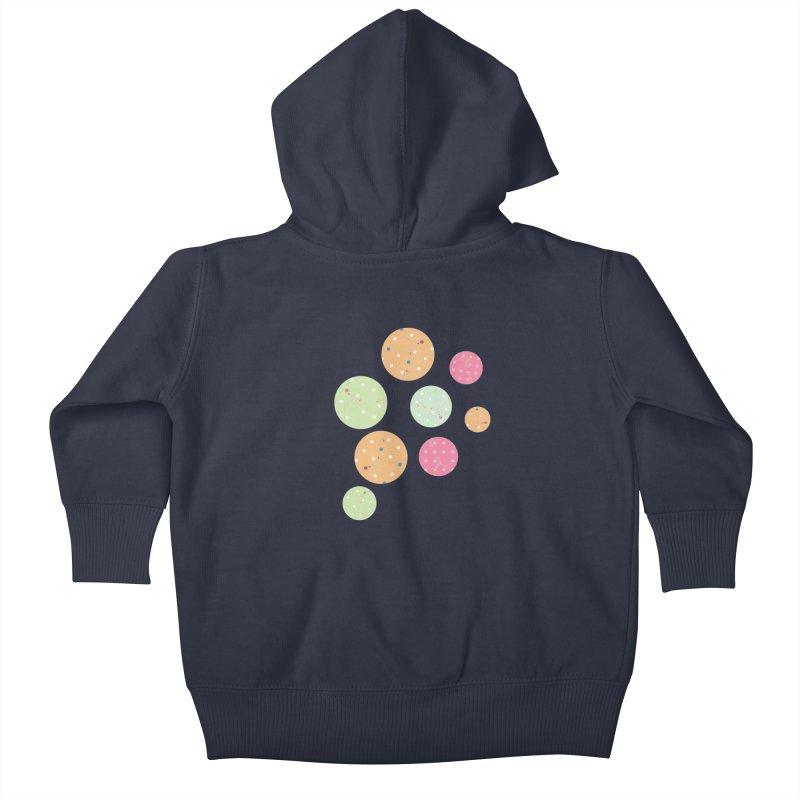 Poke-a-dot in a dot Kids Baby Zip-Up Hoody by Flourish & Flow's Artist Shop