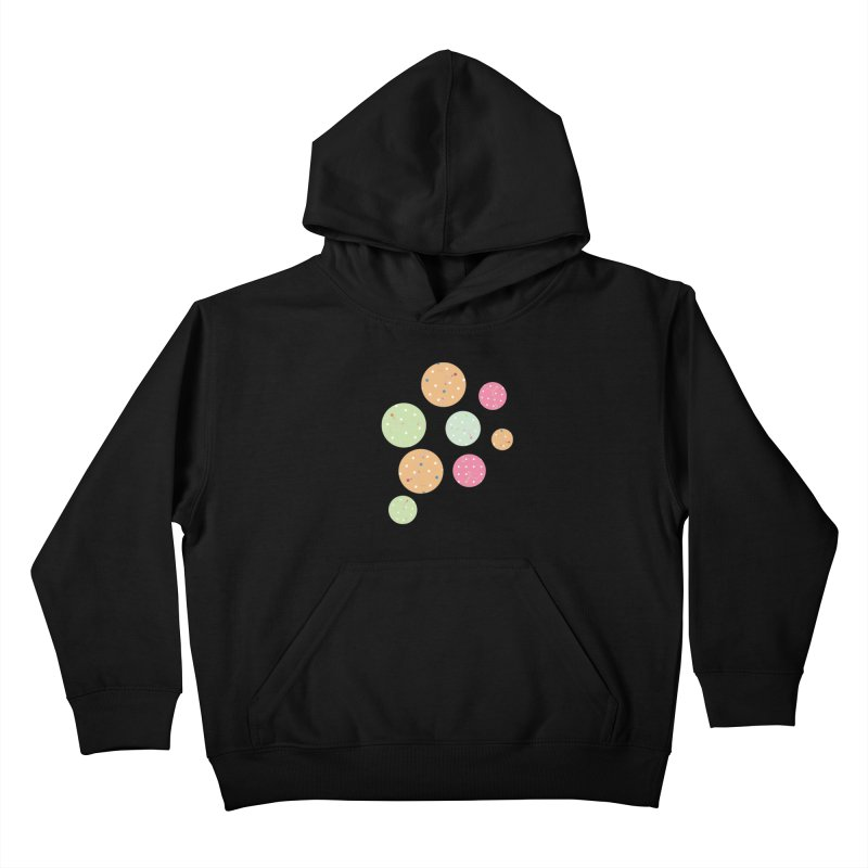 Poke-a-dot in a dot Kids Pullover Hoody by Flourish & Flow's Artist Shop