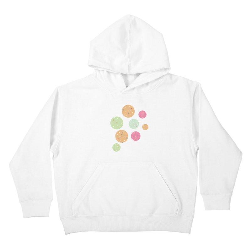 Poke-a-dot in a dot Kids Pullover Hoody by Flourish & Flow's Artist Shop