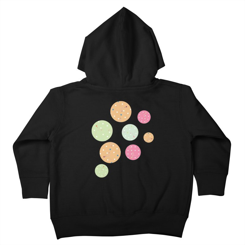 Poke-a-dot in a dot Kids Toddler Zip-Up Hoody by Flourish & Flow's Artist Shop