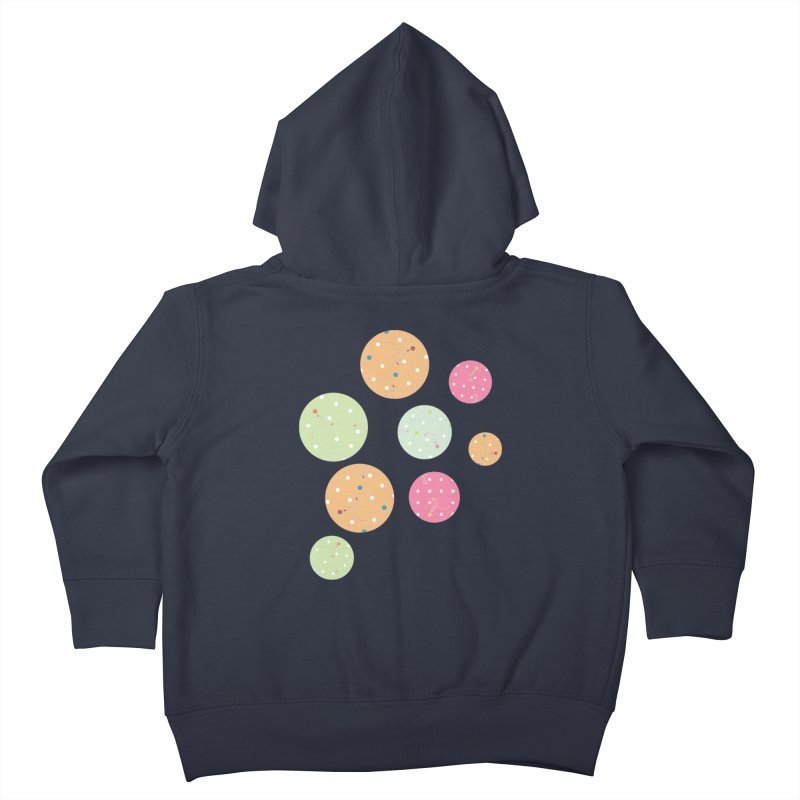 Poke-a-dot in a dot Kids Toddler Zip-Up Hoody by Flourish & Flow's Artist Shop