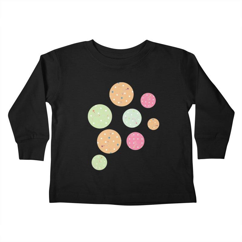 Poke-a-dot in a dot Kids Toddler Longsleeve T-Shirt by Flourish & Flow's Artist Shop