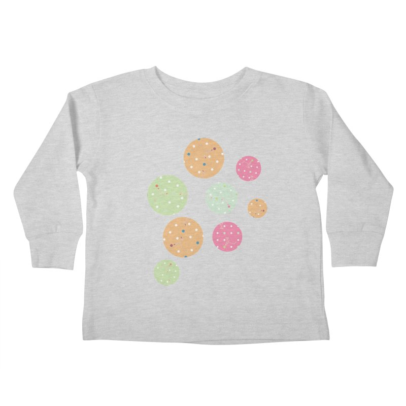 Poke-a-dot in a dot Kids Toddler Longsleeve T-Shirt by Flourish & Flow's Artist Shop