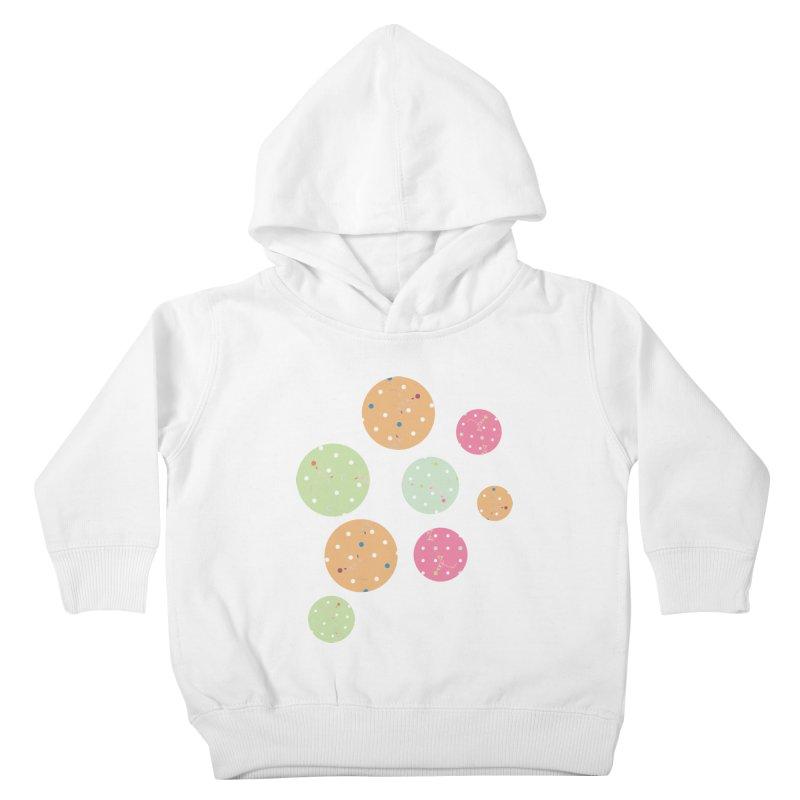 Poke-a-dot in a dot Kids Toddler Pullover Hoody by Flourish & Flow's Artist Shop