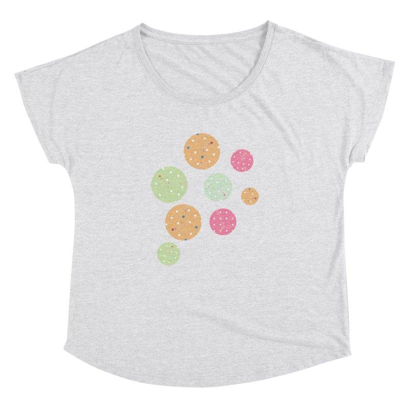 Poke-a-dot in a dot Women's Dolman by Flourish & Flow's Artist Shop