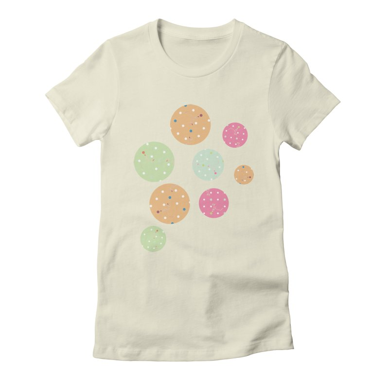 Poke-a-dot in a dot Women's Fitted T-Shirt by Flourish & Flow's Artist Shop