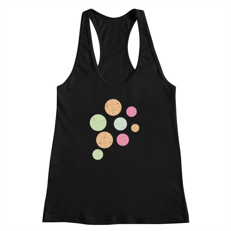 Poke-a-dot in a dot Women's Racerback Tank by Flourish & Flow's Artist Shop