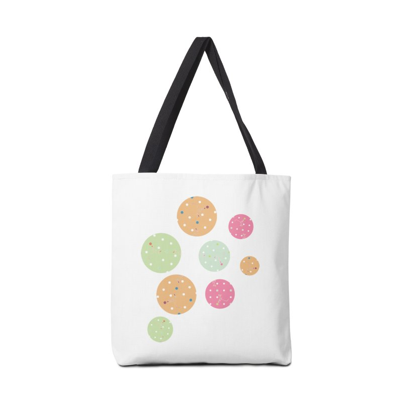 Poke-a-dot in a dot Accessories Bag by Flourish & Flow's Artist Shop
