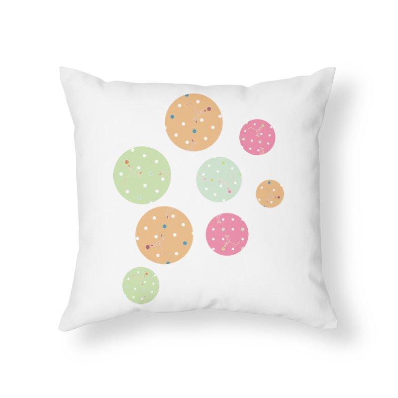 Poke-a-dot in a dot Home Throw Pillow by Flourish & Flow's Artist Shop
