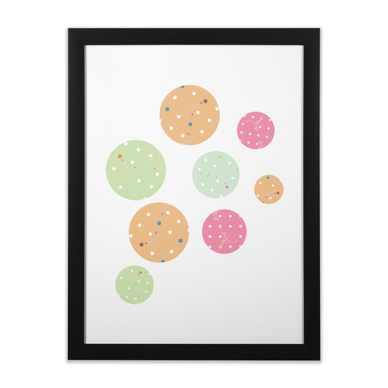Poke-a-dot in a dot Home Framed Fine Art Print by Flourish & Flow's Artist Shop