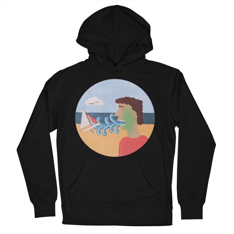 Sea Sick Men's Pullover Hoody by Flourish & Flow's Artist Shop