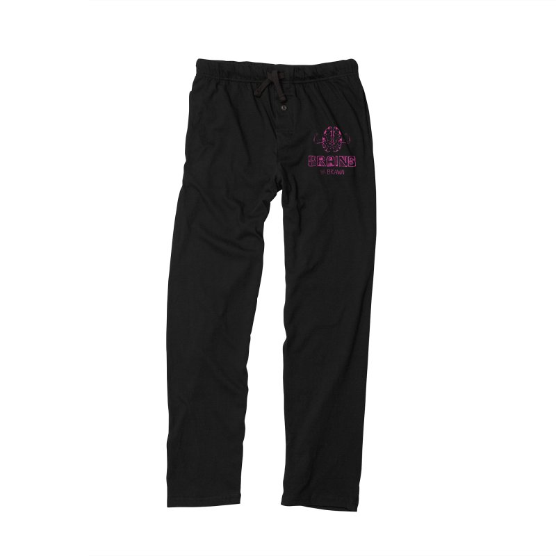Brains not Brawn Men's Lounge Pants by Flourish & Flow's Artist Shop