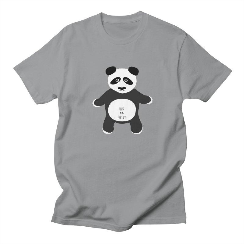 Lucky Panda Women's Regular Unisex T-Shirt by Flourish & Flow's Artist Shop