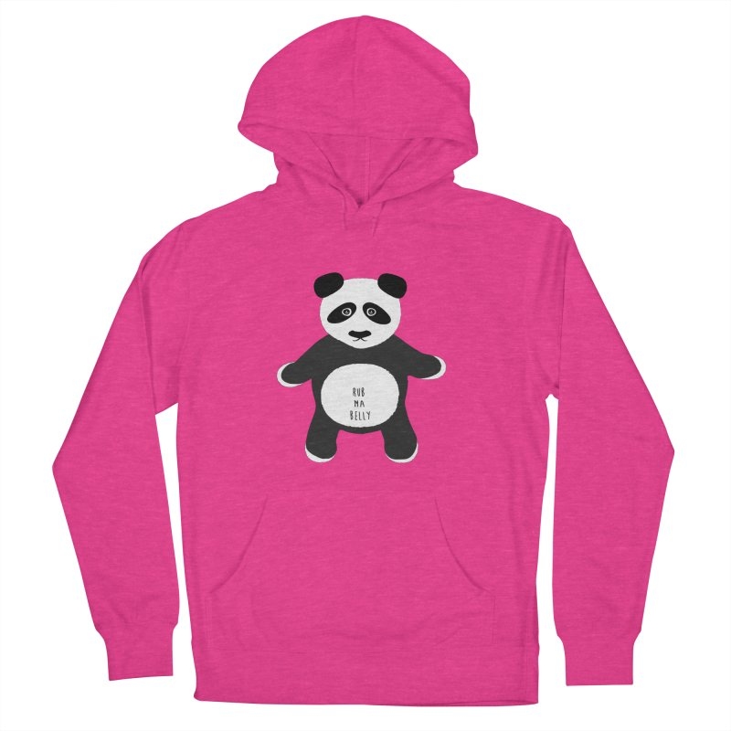 Lucky Panda Men's French Terry Pullover Hoody by Flourish & Flow's Artist Shop