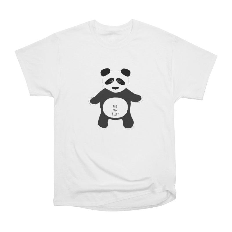 Lucky Panda Men's Classic T-Shirt by Flourish & Flow's Artist Shop