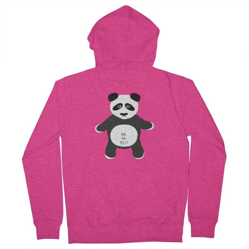 Lucky Panda Women's Zip-Up Hoody by Flourish & Flow's Artist Shop