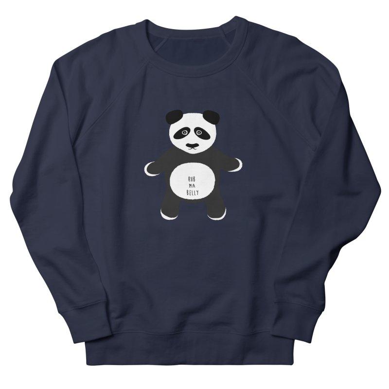 Lucky Panda Men's French Terry Sweatshirt by Flourish & Flow's Artist Shop