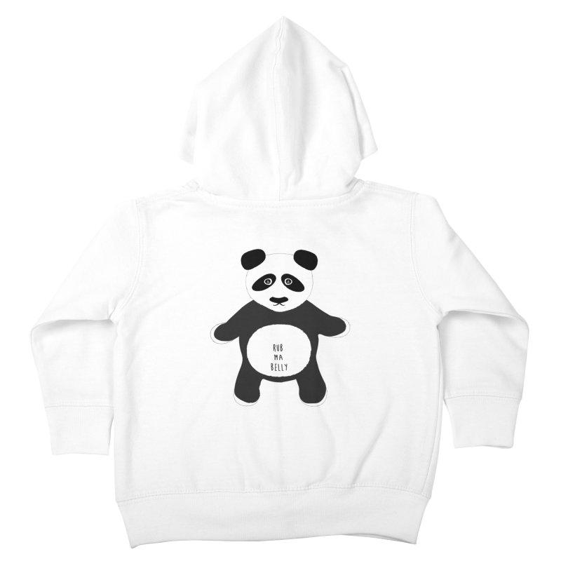 Lucky Panda Kids Toddler Zip-Up Hoody by Flourish & Flow's Artist Shop